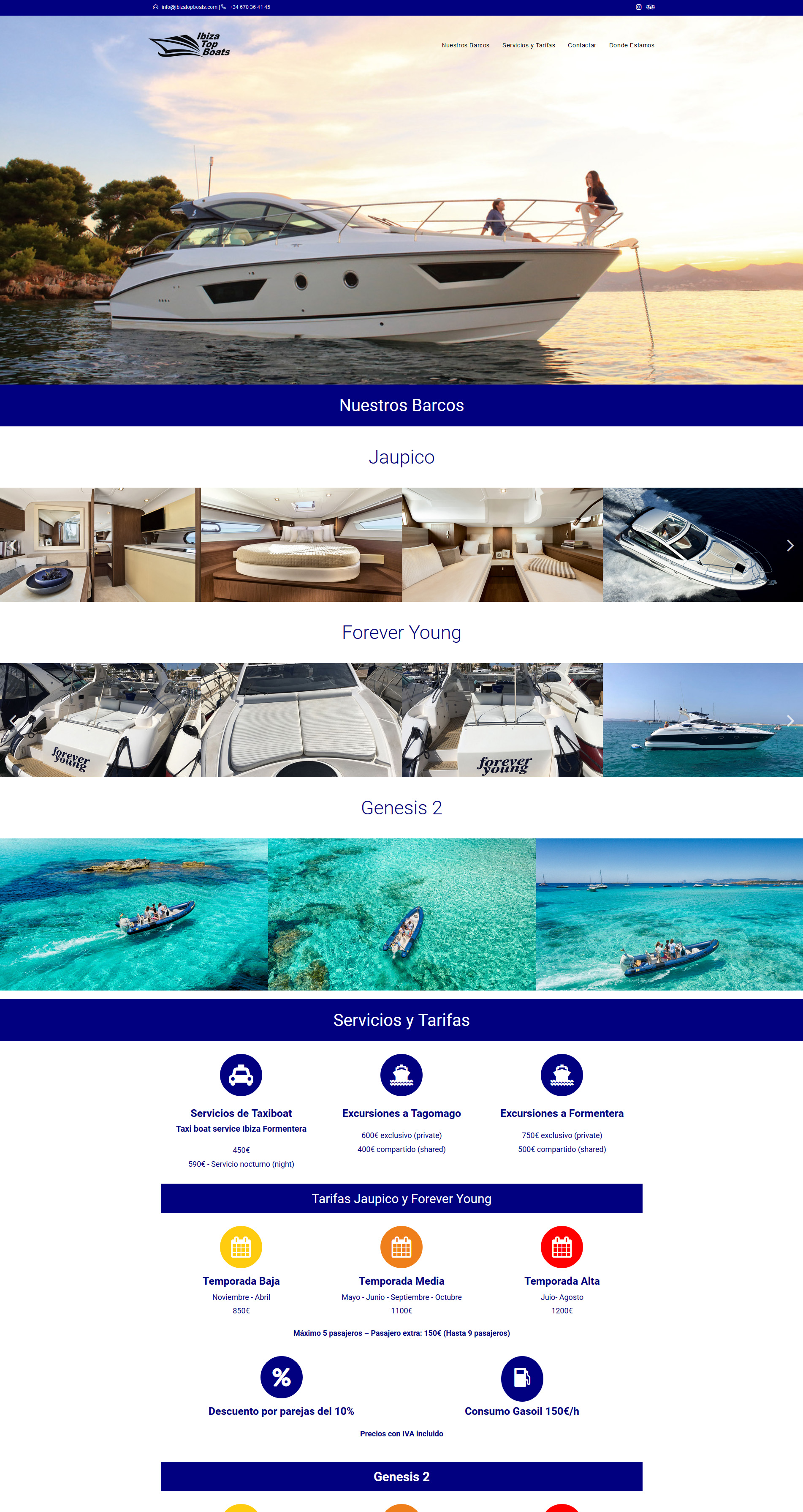 Ibiza Top Boats